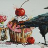 Bev Jozwiak - Sweet Treats, watercolor, $500