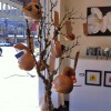 Hand Painted Gourd Birdhouses - Diane Springer