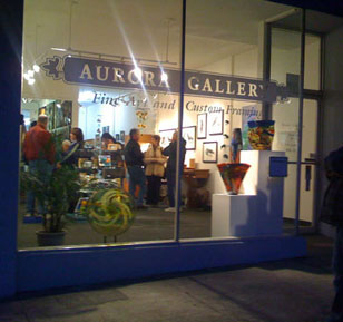 Aurora Gallery Friday Artwalks